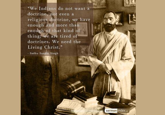 Sadhu Sundar Singh Quote 3