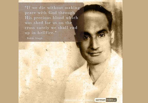 Bakht Singh Quote 2