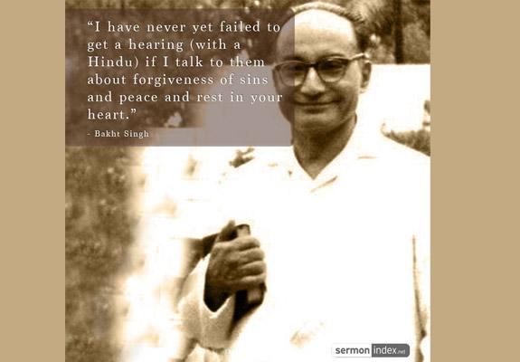 Bakht Singh Quote 3