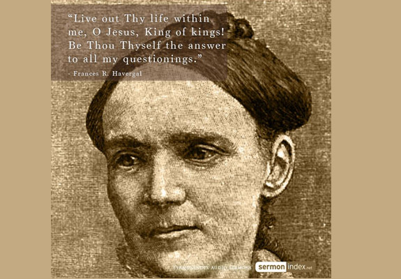 Frances R. Havergal Quote 2