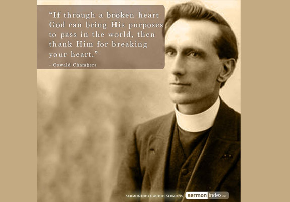 Oswald Chambers Quote 2