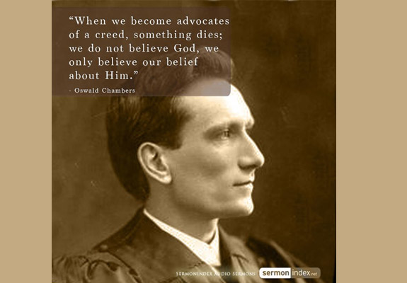 Oswald Chambers Quote 3
