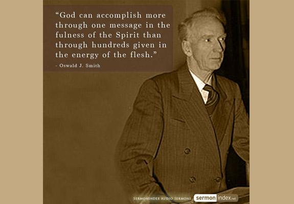 Oswald J. Smith Quote 3