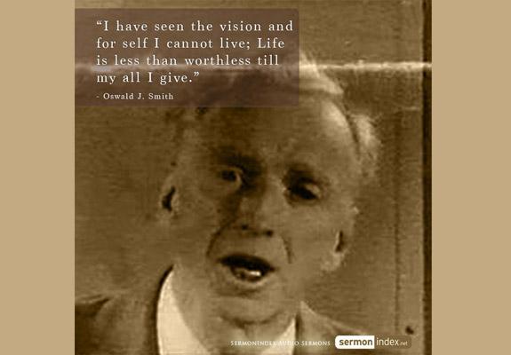 Oswald J. Smith Quote 4