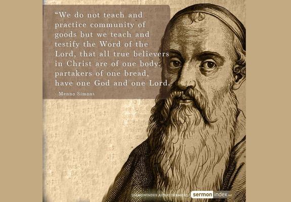 Menno Simons Quote 2