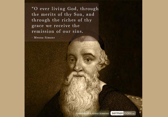 Menno Simons Quote 3