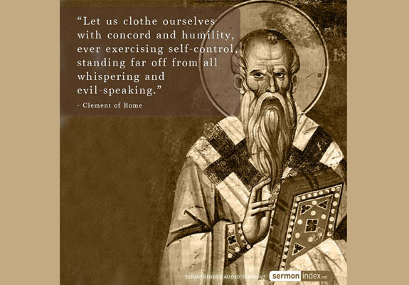 Clement of Rome Quote 2
