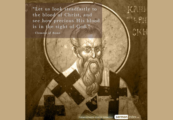 Clement of Rome Quote 4