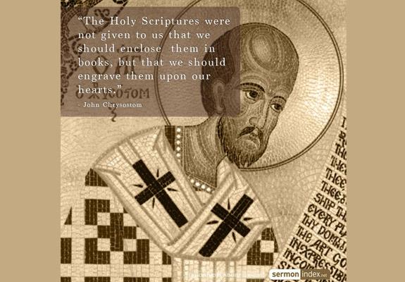 John Chrysostom Quote 4