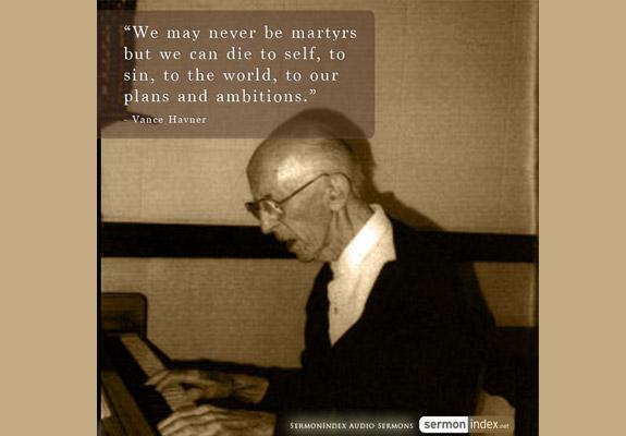 Vance Havner Quote 4
