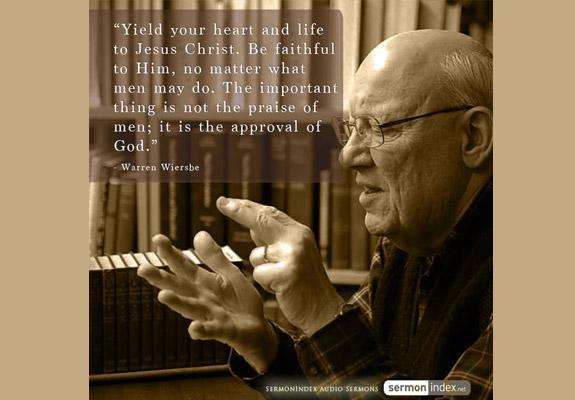 Warren Wiersbe Quote 4