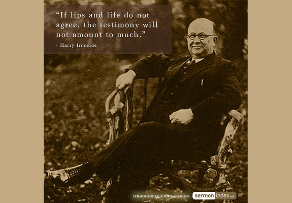 Harry Ironside Quote 2