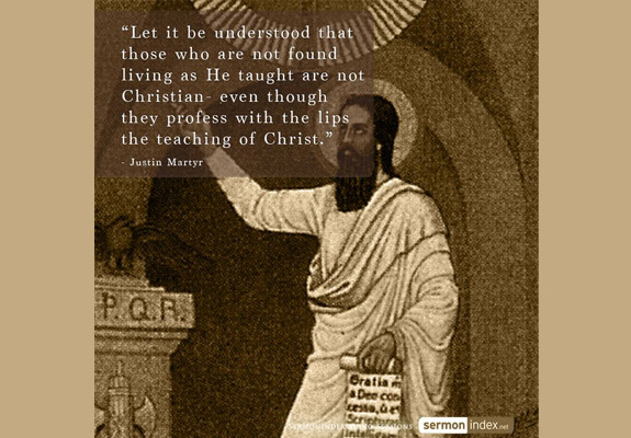 Justin Martyr Quote 2