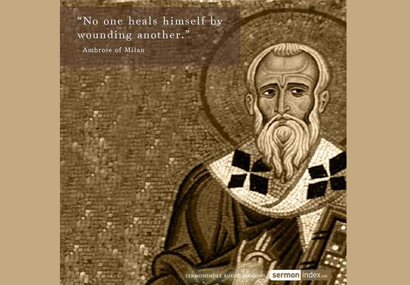 Ambrose of Milan Quote