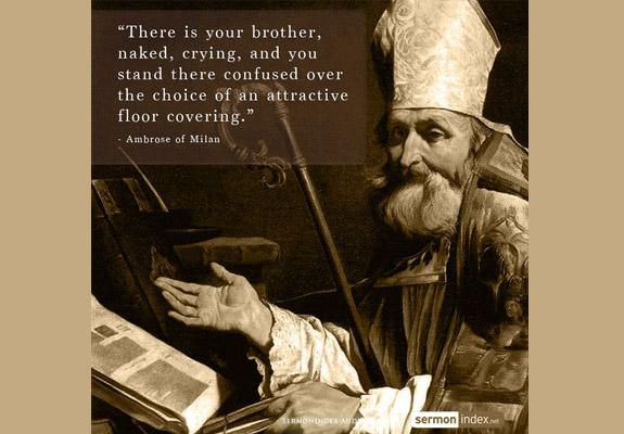 Ambrose of Milan Quote 3