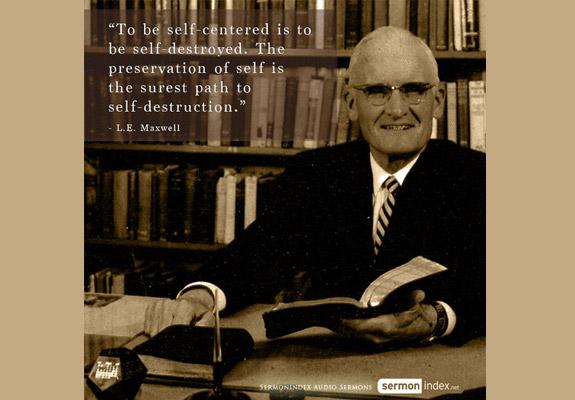 L.E. Maxwell Quote 2