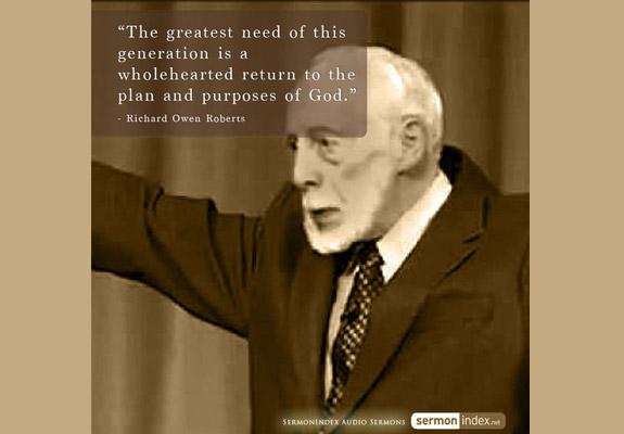 Richard Owen Roberts Quote 2