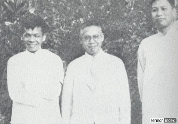 John Sung, Leland Wang and Watchman Nee, Shanghai 1934