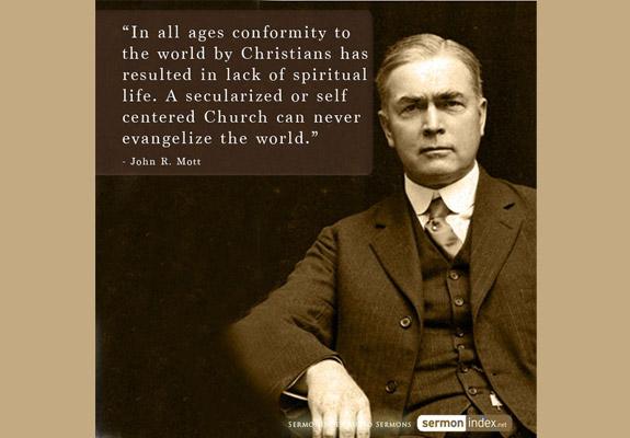 John R. Mott Quote 3