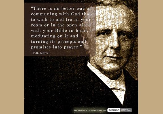F.B. Meyer Quote 6
