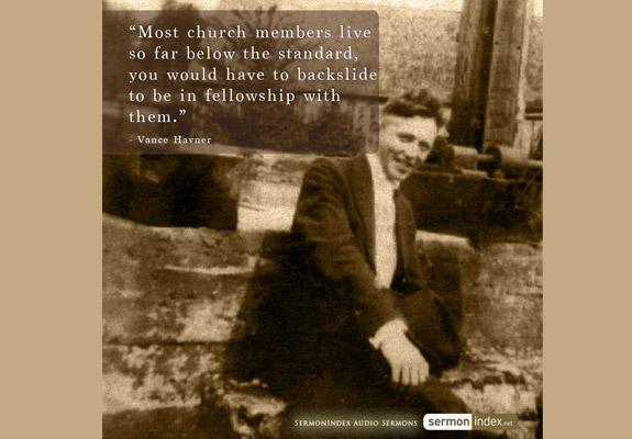 Vance Havner Quote 8