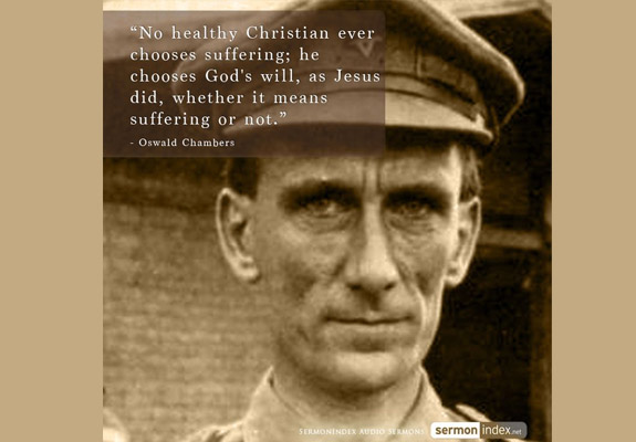 Oswald Chambers Quote 5