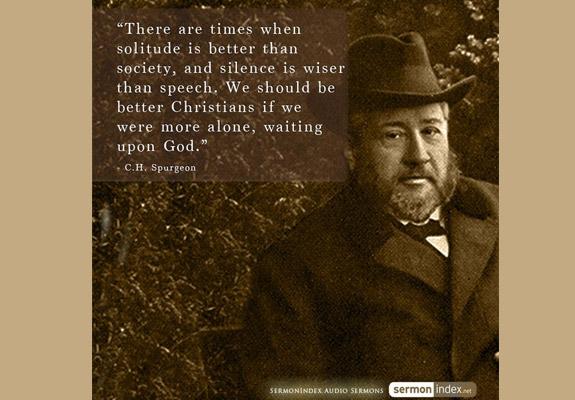C.H. Spurgeon Quote 8