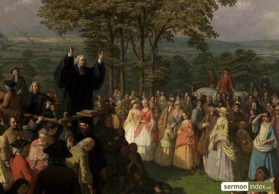 george whitefield preaching 2   sermon index