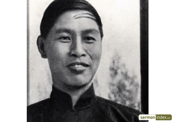 Nee Do-sheng, or Watchman Nee. Founder of the indigenous Chinese 'Little Flock'
