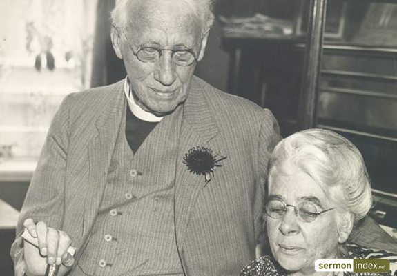 G. Campbell Morgan with his Wife