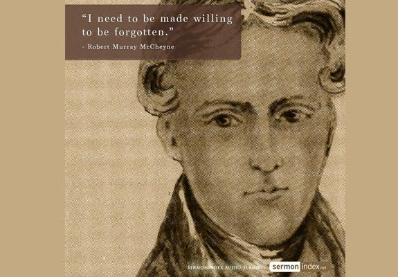 Robert Murray McCheyne Quote 2