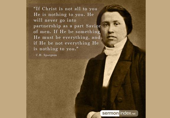 C.H. Spurgeon Quote 11