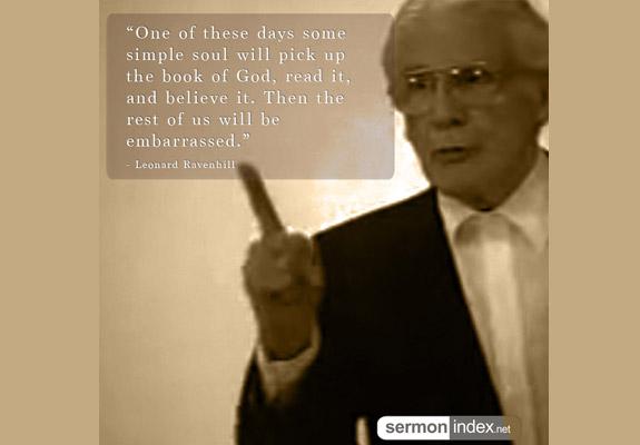 Leonard Ravenhill Quote 9