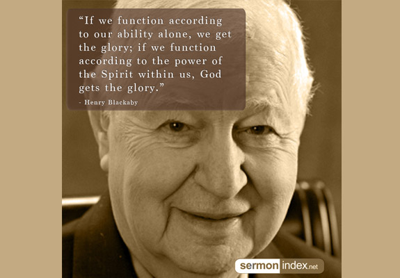 Henry Blackaby Quote 6