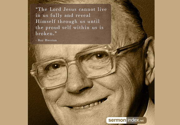 Roy Hession Quote
