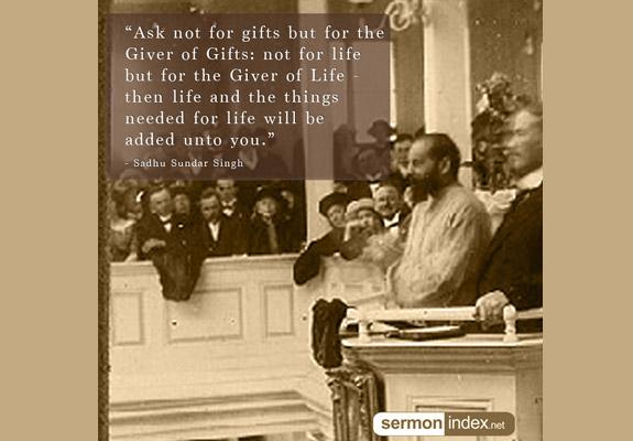Sadhu Sundar Singh Quote 6