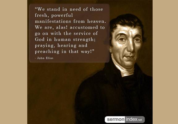 John Elias Quote