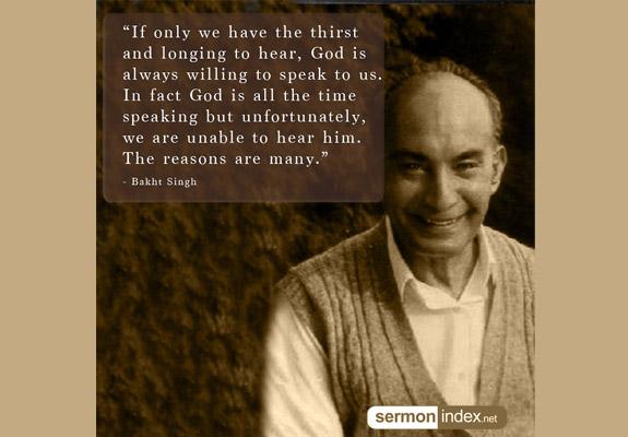Bakht Singh Quote 6