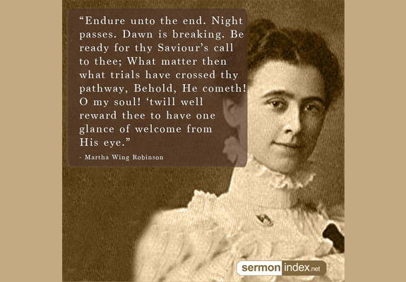 Martha Wing Robinson Quote 3