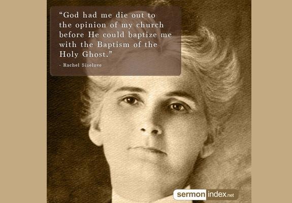 Rachel Sizelove Quote
