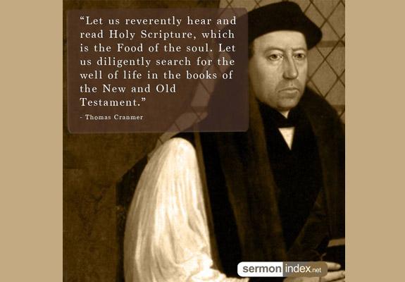 Thomas Cranmer Quote