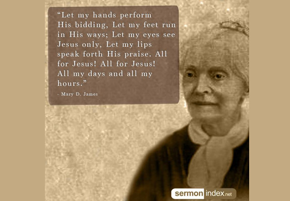 Mary D. James Quote