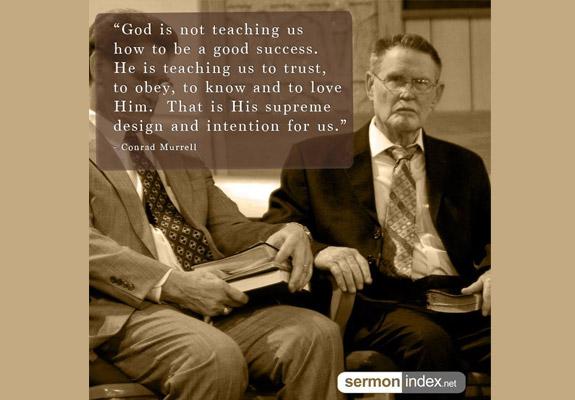 Conrad Murrell Quote 2 - Sermon Index