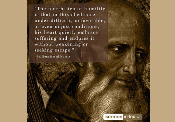 St. Benedict of Nursia Quote 9