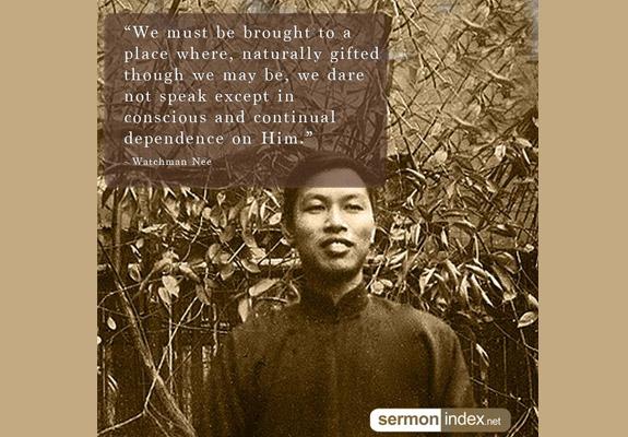 Watchman Nee Quote 8