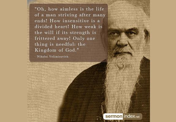 Nikolai Velimirovich Quote