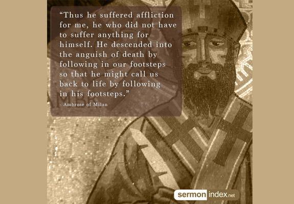 Ambrose of Milan Quote 5