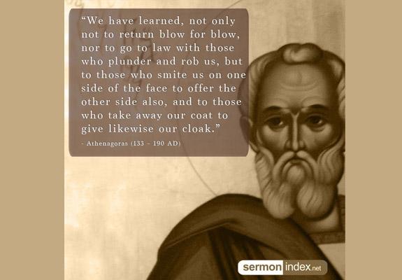 Athenagoras Quote