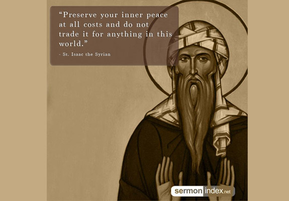 St. Isaac the Syrian Quote