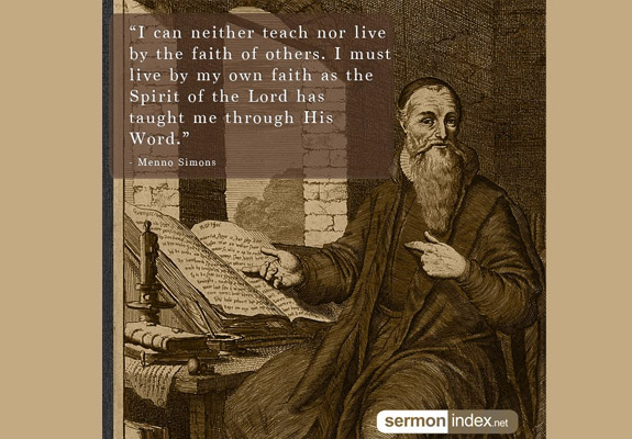 Menno Simons Quote 7